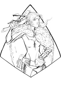 character art, dead horse podcast, ttrpg, rpg, rpgs, curse of strahd