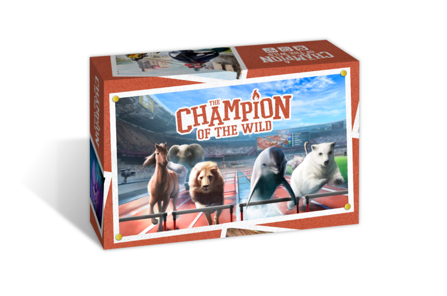 Champion of the Wild, COTW, Big Imagination Games, SUSD, Shut Up and Sit down, Gaming, Game review
