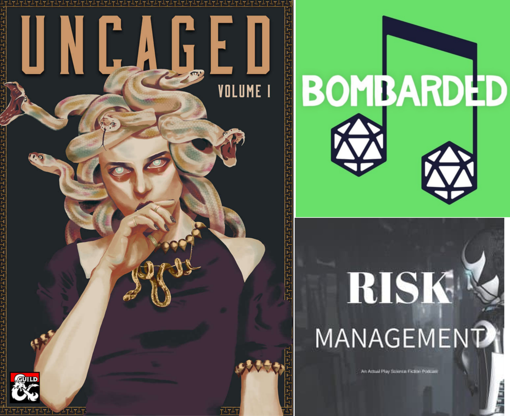 BomBARDed, Risk Management RPG, Lynne M Meyer, All Star,  podcast, Halloween, Halloween 2019, #OpenTheDungeon, Penance RPG, tabletop, gaming