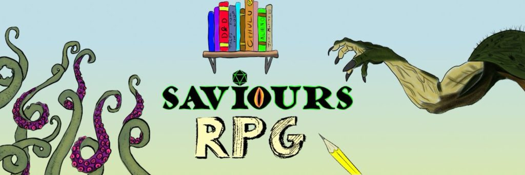 Saviours RPG, dnd, podcast, stream, collaboration, open the dungeon, Halloween, Halloween 2019, Halloween 2019