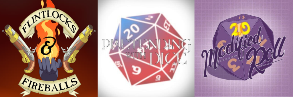 Penance RPG, Podcast, actualplay podcast, Dragonmeet, PodcastZone, Flintlocks & Fireballs, Pretending With Dice, Modified Roll,