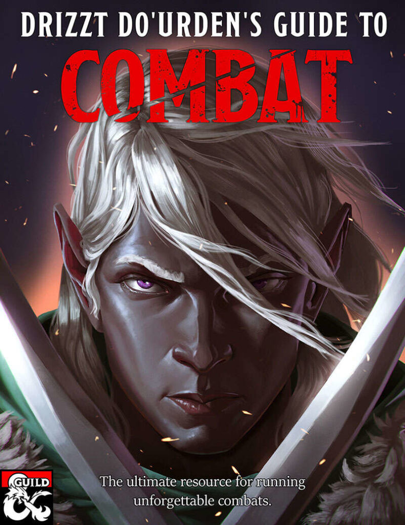 Drizzt, ttrpg, rpg, D&D5e, dungeons and dragons, gaming, Penance RPG, review, marketing