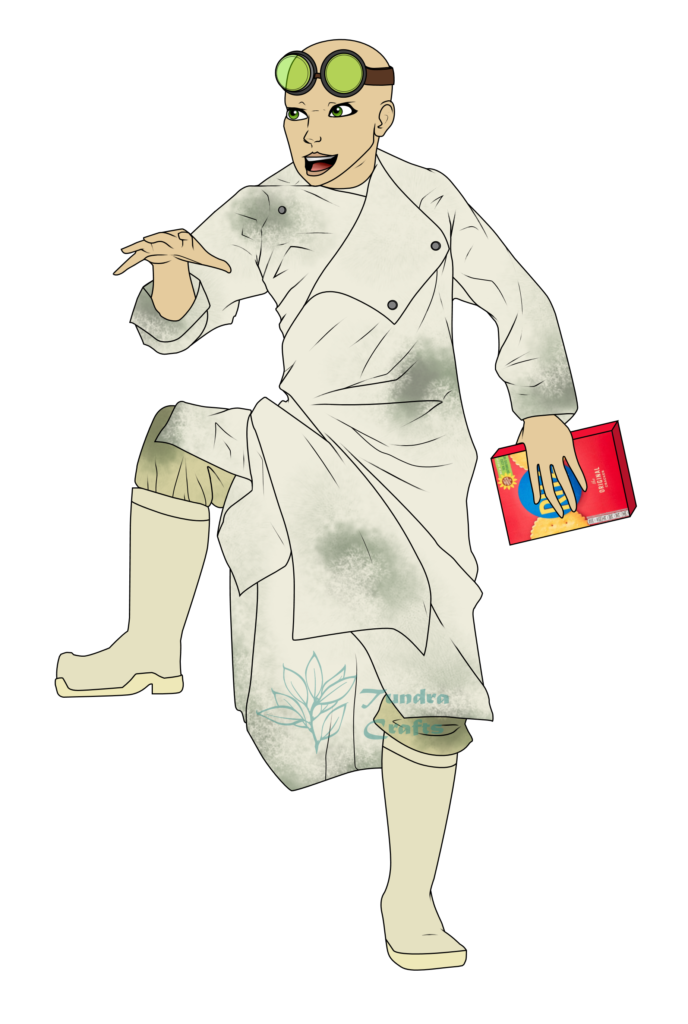 Dr Francis Stein, Frankenstein, 2115, Penance RPG, lab rat